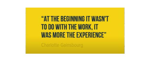 Work experience quote