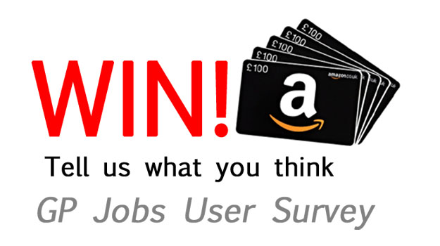 Win £100 Amazon voucher: GP Jobs user survey